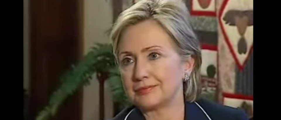 Hillary Clinton talks about superdelegates during a May 18, 2008 interview with WPSD-TV. (Youtube screen grab)