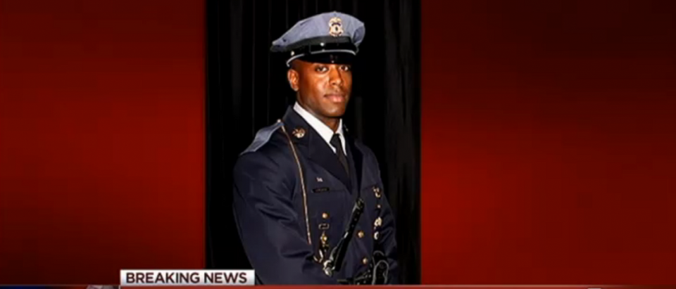 NBC Washington covers killing of Maryland officer. (Screen shot/NBC Washington/Prince George's County Police Department)