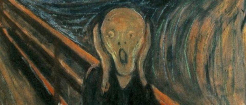 """The Scream,"" By Edvard Munch. Public Domain."