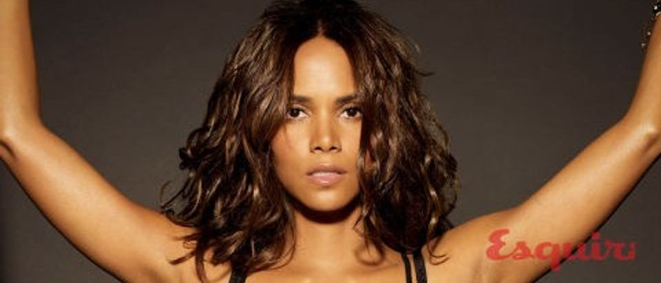 Halle Berry posts topless photo