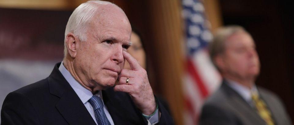 GOP Senators Hold News Conference On Guantanamo Detention Facility