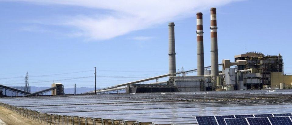 The Comanche Solar facility is shown in Pueblo