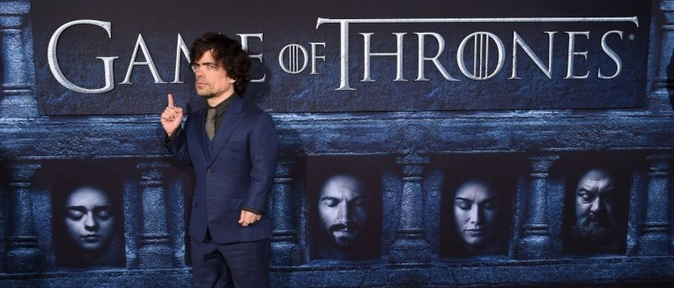 """Peter Dinklage attends the premiere for the sixth season of HBO's """"Game of Thrones"""" in Los Angeles"""