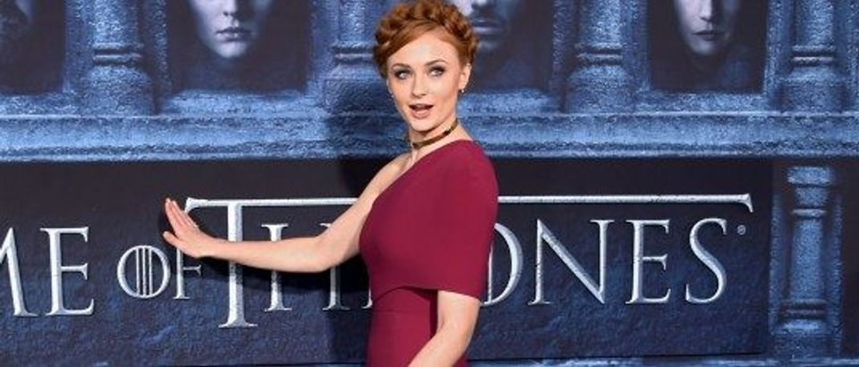 "Sophie Turner attends the premiere for the sixth season of HBO's ""Game of Thrones"" in Los Angeles"