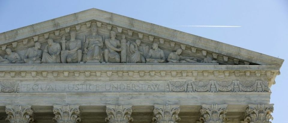 The U.S. Supreme Court is seen after split 4-4 decision in first major case after Scalia death in Washington