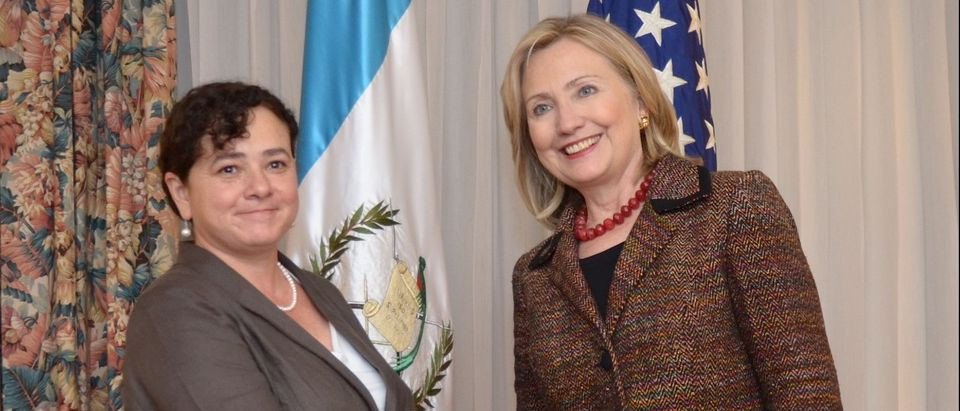 Secretary of State Hillary Clinton meets with Guatemalan Attorney General Claudia Paz y Paz. (US Embassy Guatemala, Creative Commons via Flickr) - http://bit.ly/OJZNiI