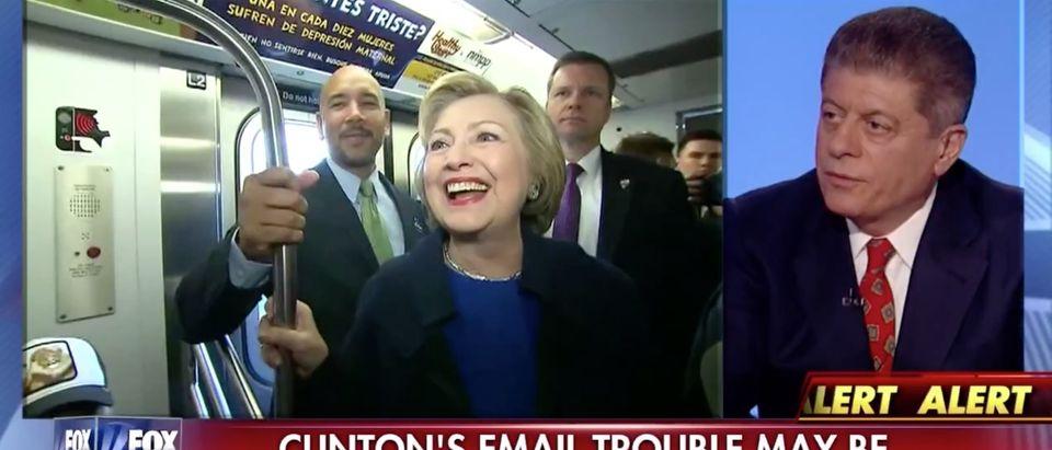 Andrew Napolitano, Screen Shot Fox News, 4-8-2016