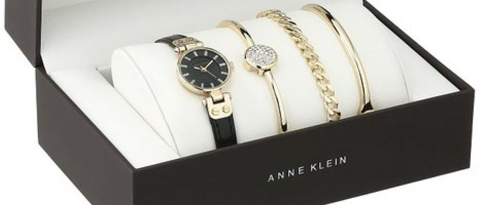Get Mom a $150 Anne Klein watch for as low as $39.99 (Photo via Amazon)