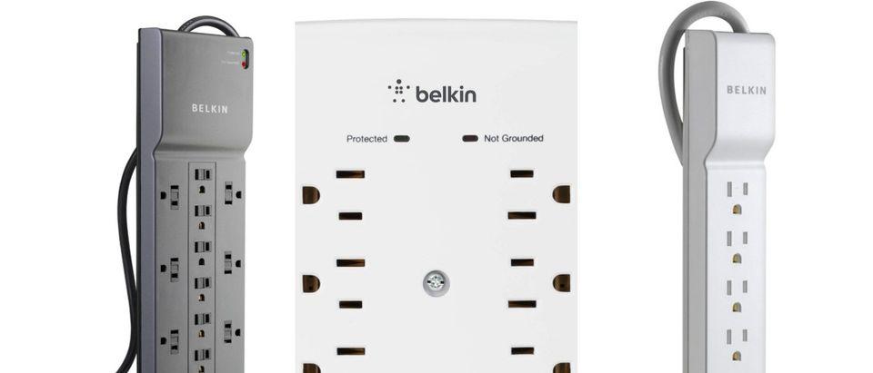 Belkin surge protectors are 60% off (Photos via Amazon)