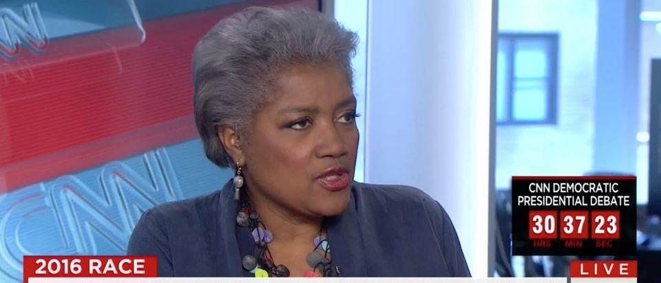 Donna Brazile, Screen Shot CNN, 4-13-2016