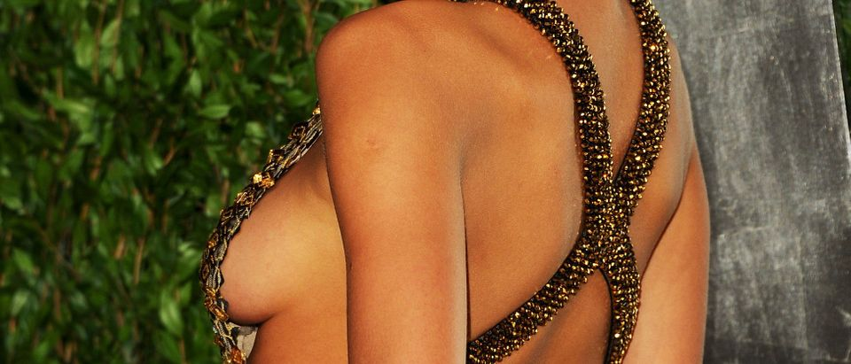 It is National Sideboob Day