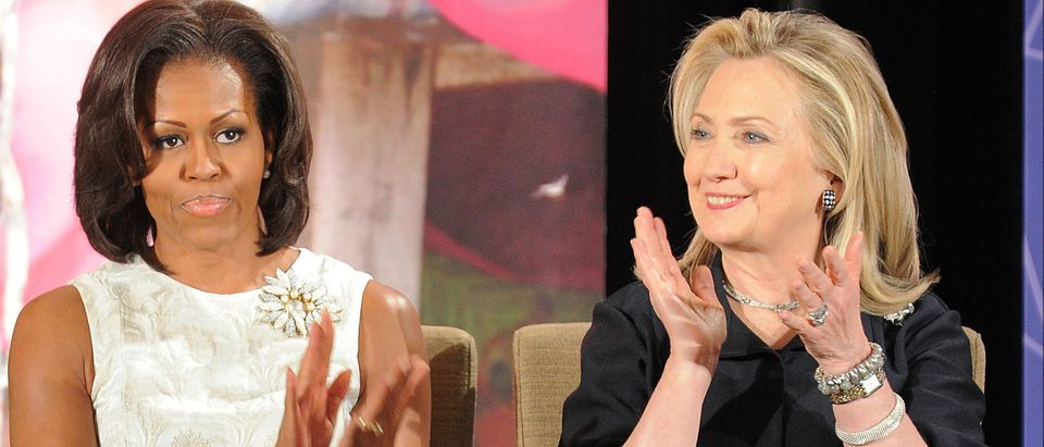 Michelle Obama hates Hillary Clinton, book claims