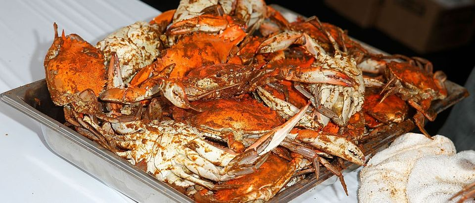 Crabby Couple Arrested For Assaulting Guy In Seafood Buffet Line (Getty Images)