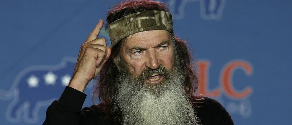 Phil Robertson. (Photo by Justin Sullivan/Getty Images)