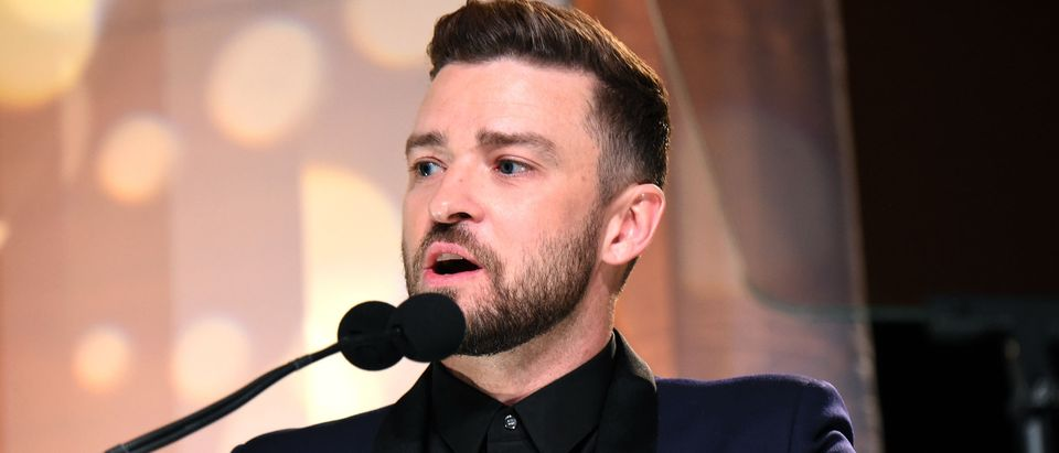 Justin Timberlake makes Donald Trump joke
