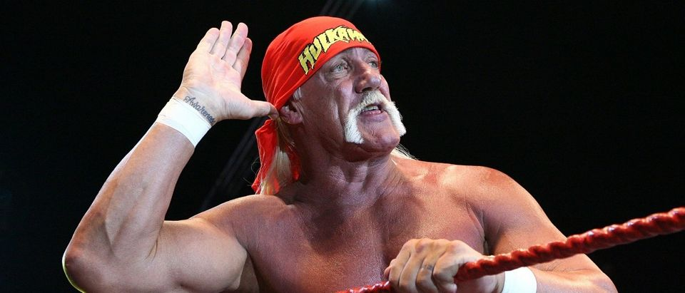 Hulk Hogan. (Photo by Paul Kane/Getty Images)