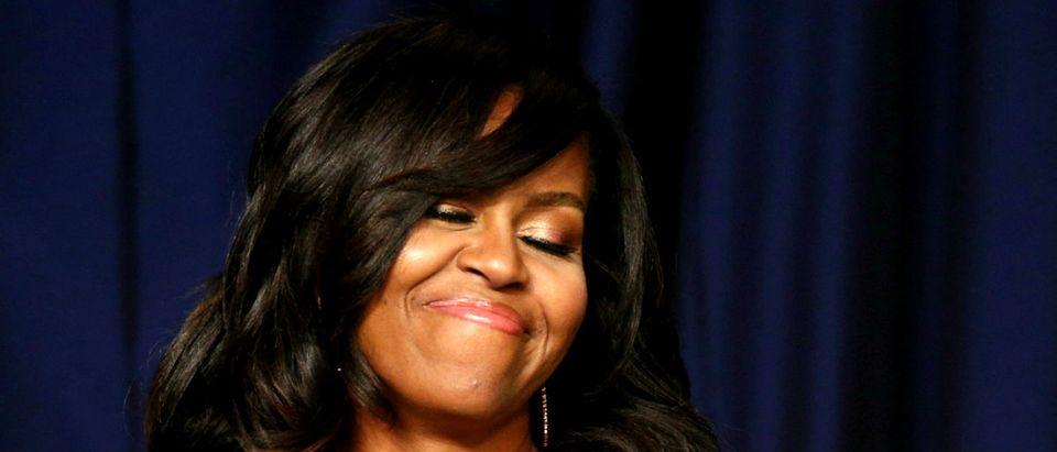 Michelle Obama Reuters/Kevin Lamarque