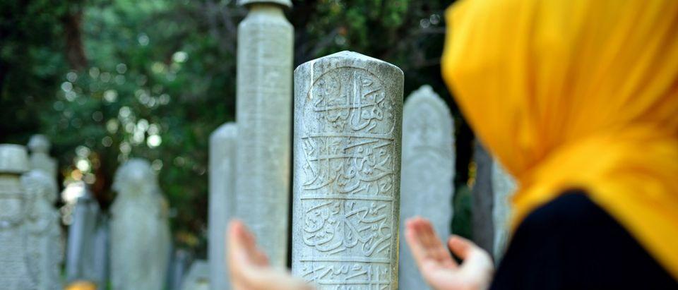 Muslim cemetery Shutterstock/hikrcn