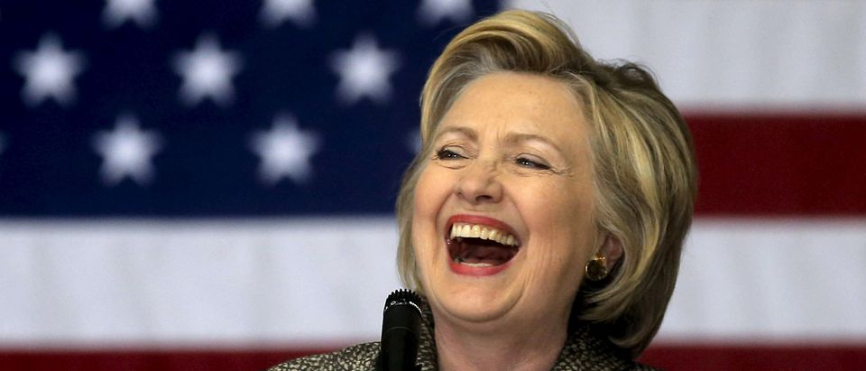 Clinton Wins Maryland Democratic Primary (Reuters Pictures)
