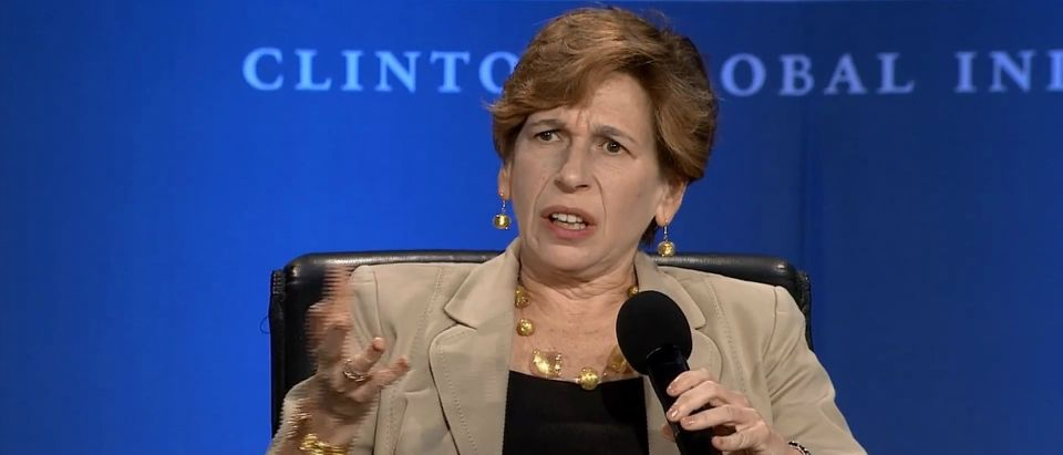 Randi Weingarten YouTube screenshot/Clinton Global Initiative