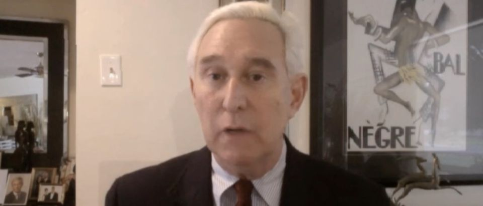 Roger Stone, Screen Shot InfoWars.com, 4-6-2016