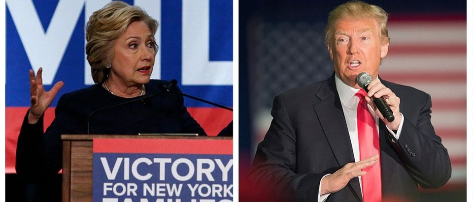Clinton Fnd. Promises To Release 500 Pages Of Damning Trump Documents ... Then Doesn't (Getty Images)