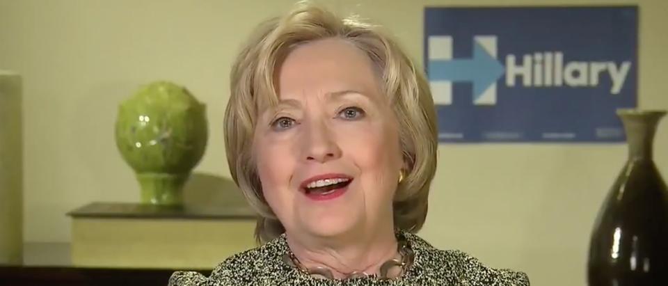 Hillary Clinton on CNN, April 6, 2016. (Youtube screen grab)
