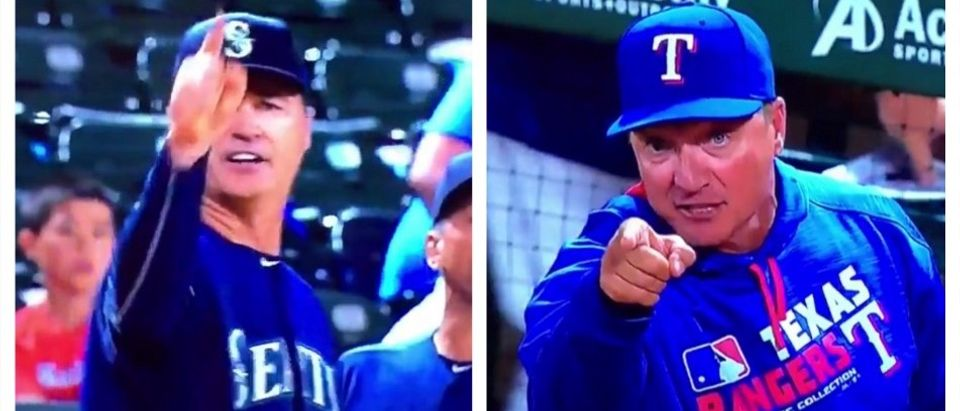 HOORAY! We Just Had Our First 'Go F**k Yourself' Moment Of The MLB Season (Vine)