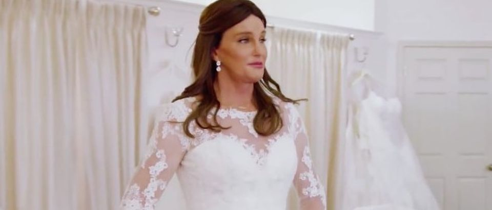 Caitlyn Jenner goes wedding dress shopping