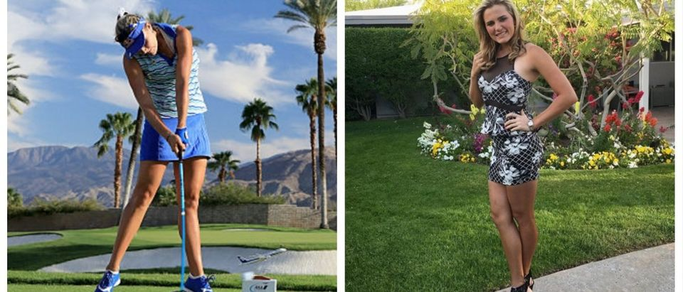 LPGA Golfer BOMBS It Off The Tee -- Has The Looks To Match (Getty Images/Instagram)