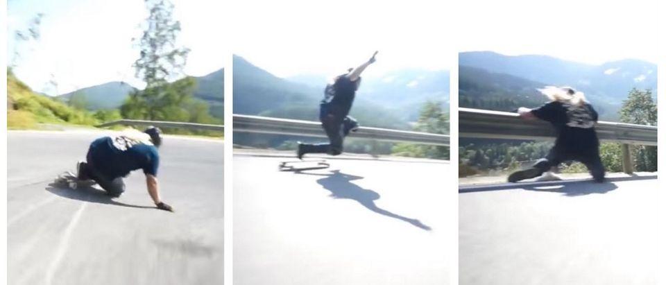 Man Overboard: Skateboarder 'Kula The Viking' Flies Too Close To The Sun (YouTube)
