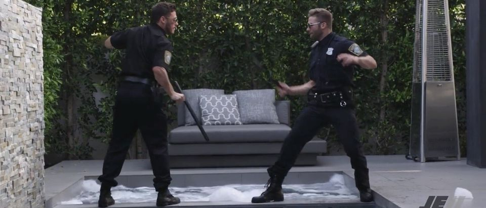 It's Your Patriotic Duty To Watch Julian Edelman, Danny Amendola Hilariously Pretend To Be Cops (YouTube)