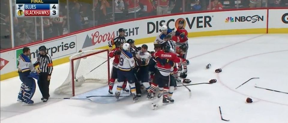 Blackhawks (Credit: Screenshot/Youtube SPORTSNETCANADA)