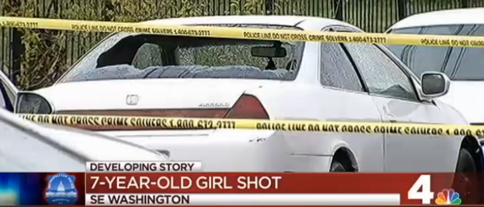 NBC4 coverage of shooting in SE DC (YouTube/Screenshot/NBC4)