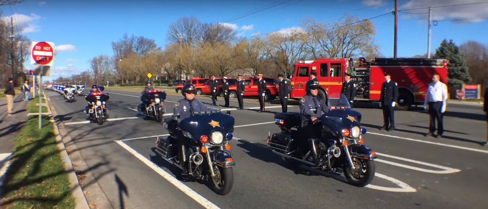 Officer Noah Leotta Funeral Procession.