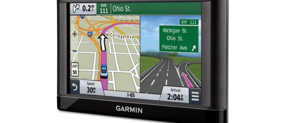 The Garmin nüvi is all you need to get around (Photo via Amazon)