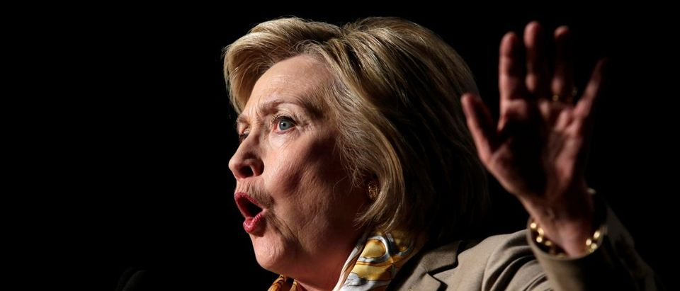 Democratic U.S. presidential candidate Hillary Clinton speaks at the North America's Building Trades Unions 2016 Legislative Conference