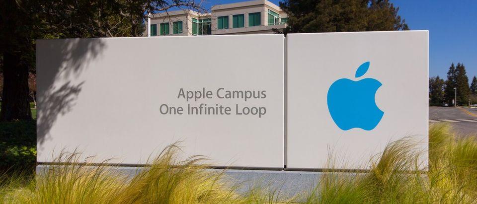Sheriffs Find Dead Body At Apple's Headquarters (Shutterstock)