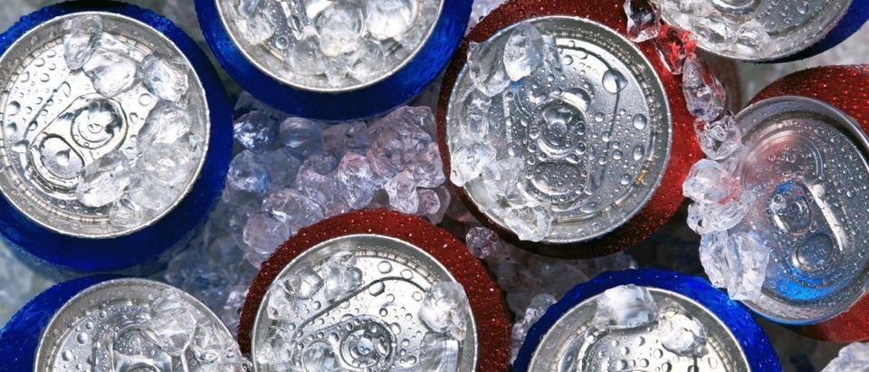 Soda cans (shutterstock)
