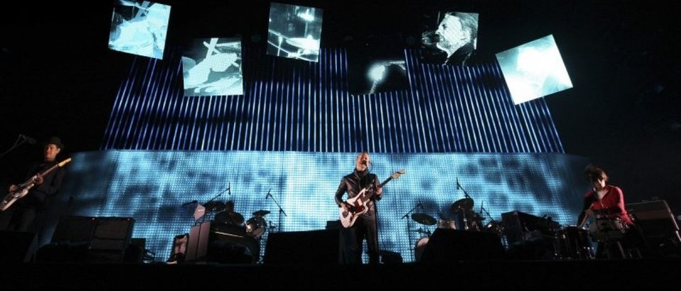 Radiohead performs at the Coachella Valley Music and Arts Festival in Indio, California April 14, 2012. REUTERS/David McNew/File Photo