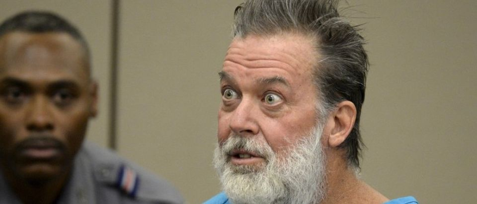Robert Lewis Dear attends hearing at El Paso County court in Colorado Springs