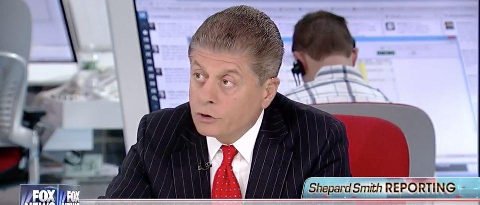 Andrew Napolitano, Screen Grab Fox News, 5-31-2016