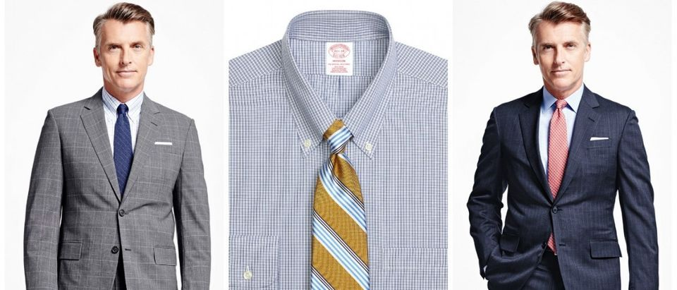 You can get pretty much anything from Brooks Brothers on sale at the moment (Photos via Brooks Brothers)