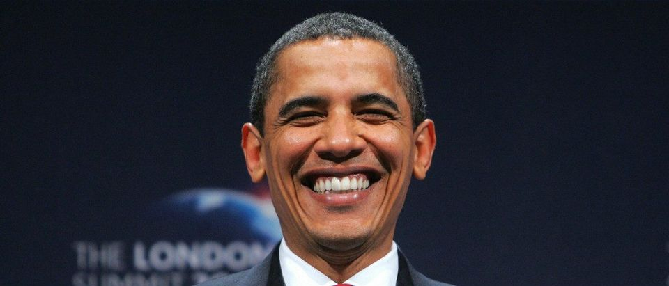 Barack Obama smiling AFP/Getty Images