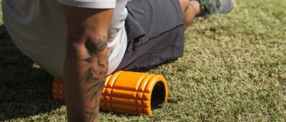 Today is National Foam Roller Day (Photo via Amazon)