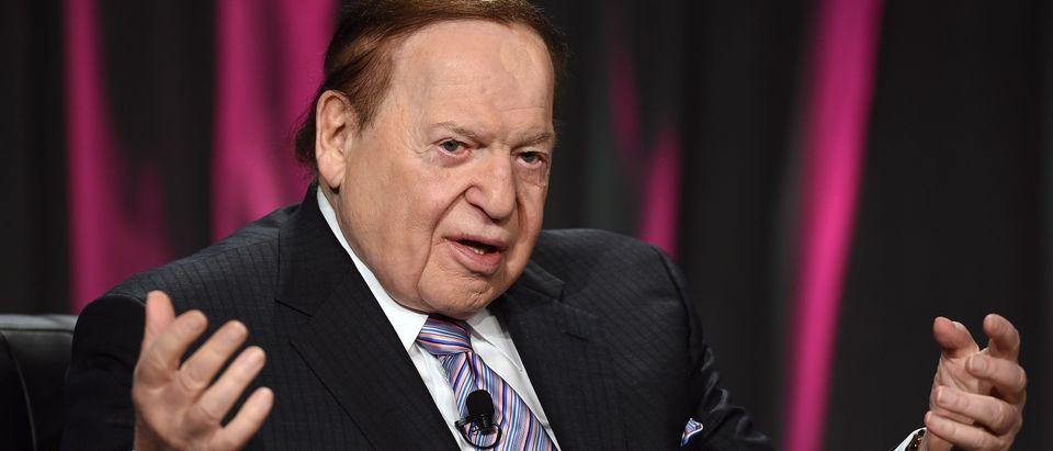 Sheldon Adelson endorses Donald Trump for president