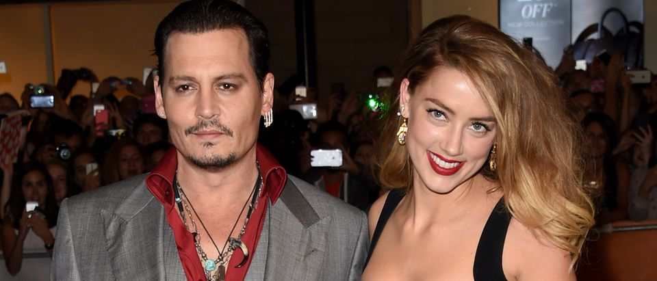 Johnny Depp getting divorced