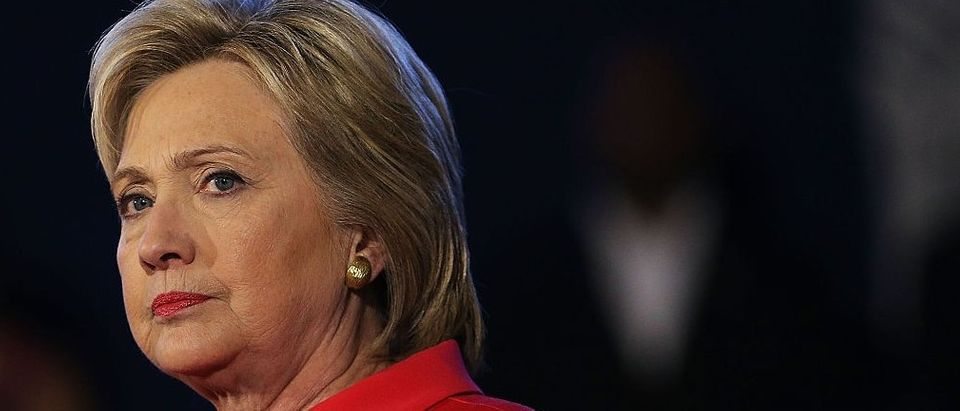"""Hillary Clinton Holds """"Corridor Of Opportunity"""" Town Hall In SC"""