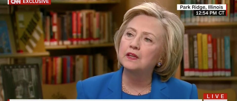 Hillary Clinton, Screen Grab CNN, 5-19-2016
