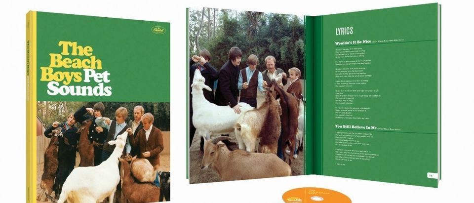 """The 50th Anniversary Deluxe Edition of """"Pet Sounds"""" can be pre-ordered now (Photo via Amazon)"""